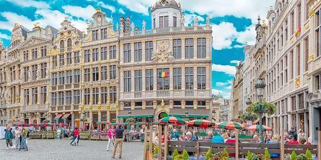 Bruxelles Grote Markt Belgio